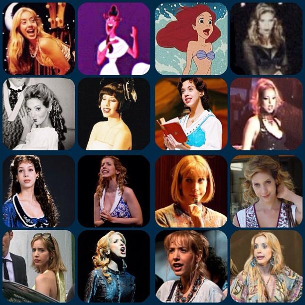 Algumas das personagens de Kiara Sasso (Foto: Arquivo Pessoal)