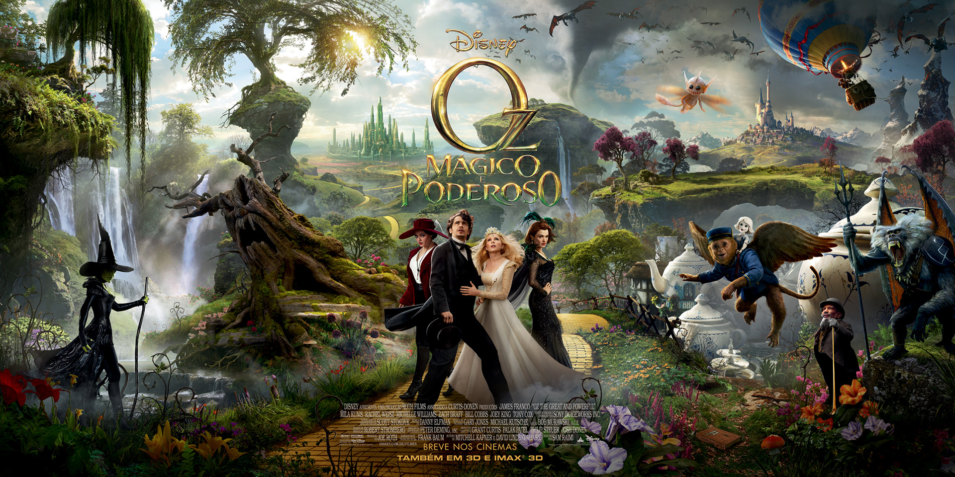 O Magico De Oz E Suas Novas Versoes Para 2013 Cortina Dos Olhos