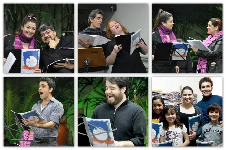 Atores na primeira leitura dramática - 2012 (Fotos: Arquivo Pessoal)
