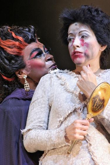 """Alessandra Verney como Bianca em """"7- O Musical"""" Crédito: Chico Lima"""