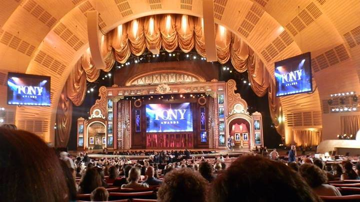 Prêmio Tony 2013 (Radio City Music Hall) - Foto: Arquivo Pessoal
