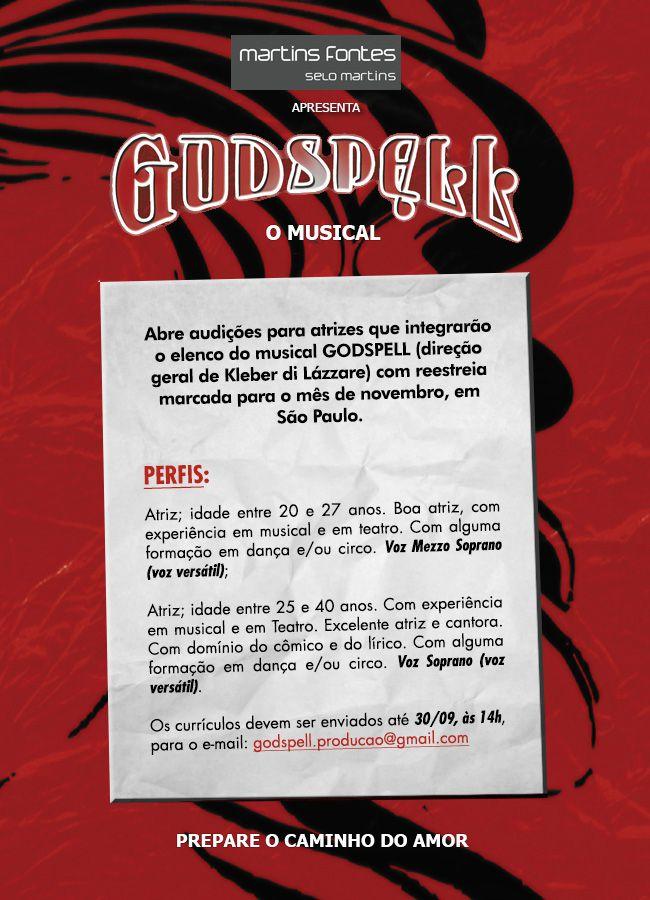godspell_audicao