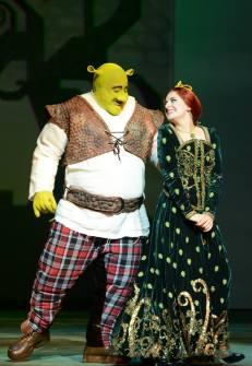 Fiona em dois momentos: com Diego Luri
