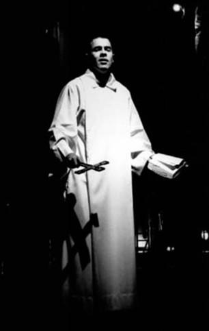 Cláudio Lins como Frei Malthus (Foto: Divulgação)