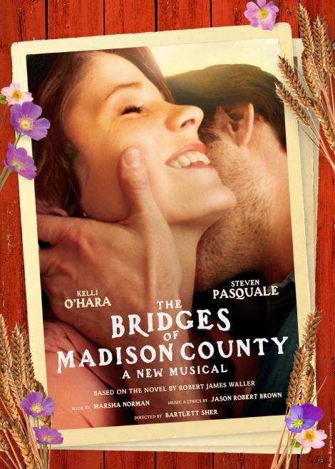 Posters da produção, que estreia em fevereiro na Broadway