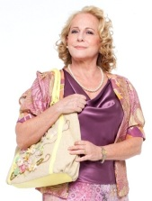 """Lucinha como Gloria, em """"Rock in Rio - O Musical"""" ( Foto: Divulgação)"""