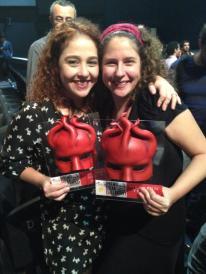 Debora Lamm e Renata Mirahi, vencedoras do Prêmio