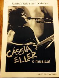 """Roteiro de """"Cássia Eller - O Musical"""" - Foto: Divulgação / Página Oficial no Facebook"""
