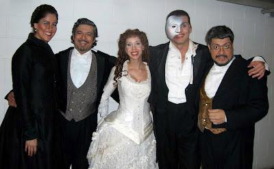 """O elenco brasileiro de """"O Fantasma da Ópera"""""""