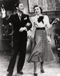 "Gene and Judy Garland in For Me and My Gal (1942). Judy Garland no filme ""Lily, A Teimosa"" de 1943"