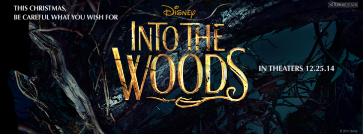 into woods movie poster