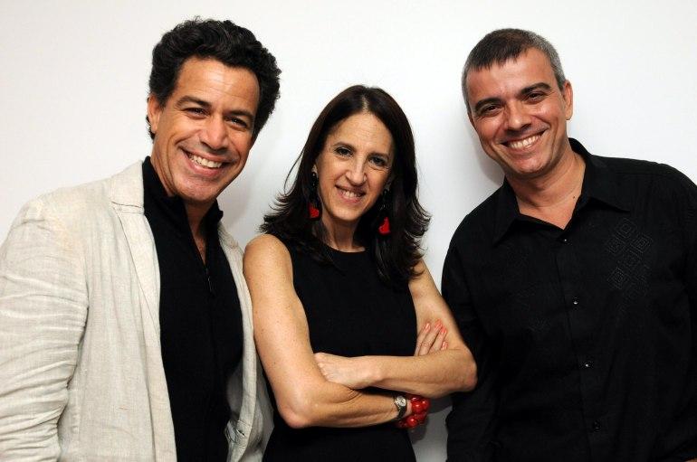Luiz Calainho , Aniela Jordan e Fernando Campos