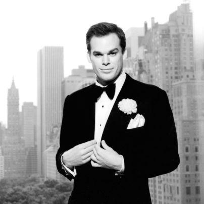 Hall caracterizado como Billy Flynn, em 2003