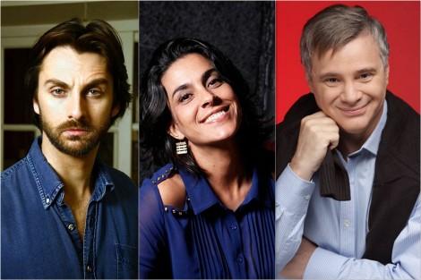 André Dias, Izabella Bicalho e Tadeu Aguiar - Fotos: Divulgação