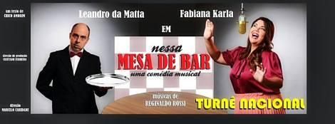 Nessa Mesa de Bar