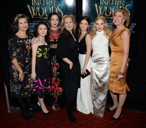 """The Stars Come Out For The World Premiere Of """"Into the Woods"""""""