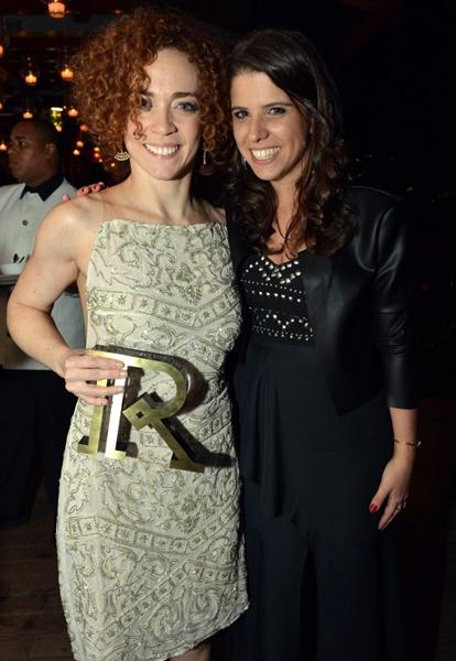 Laila Garin e Antonia Prado, idealizadora do Prêmio Reverência
