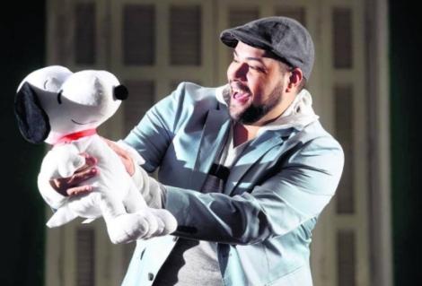 Tiago e Snoopy
