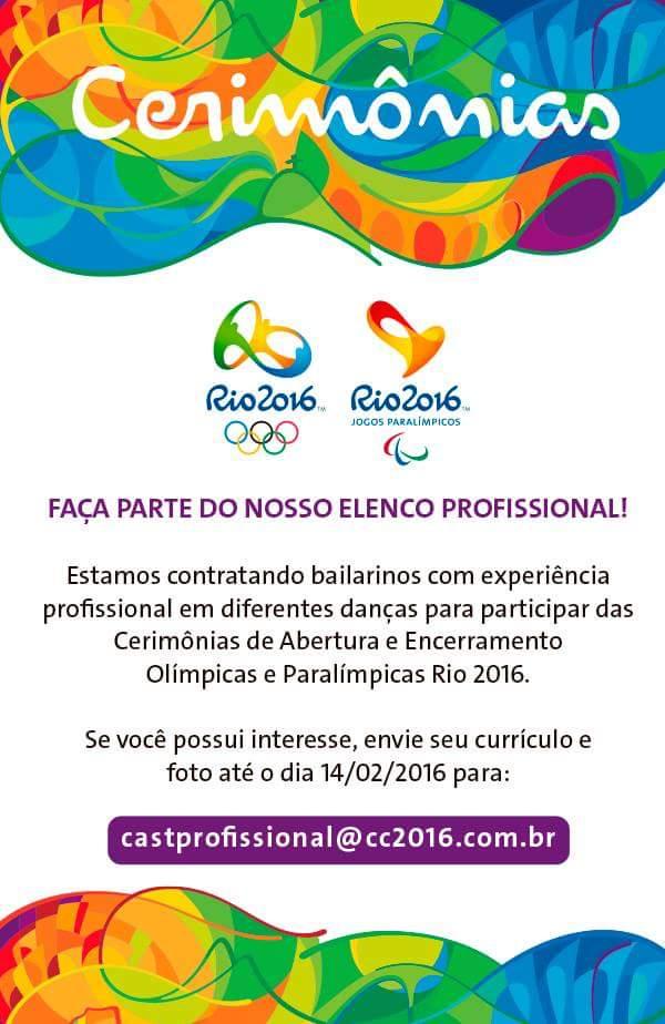 audicao olimpiadas