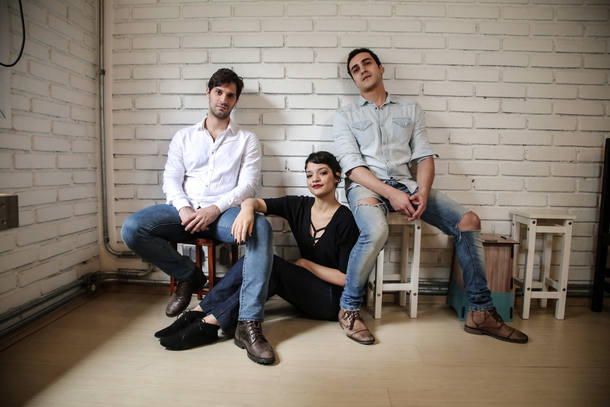 SAO PAULO - SP / 09.09.2016 / MUSICAL RENT / CADERNO 2 Bruno Narchi, Ingrid Gaigher e Thiago Machado, atores do musical Rent. AMANDA PEROBELLI/ESTADAO