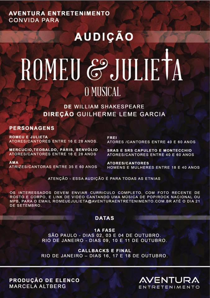 Romeu e Julieta Musical