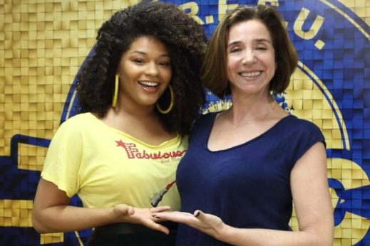 Juliana Alves e Marisa Orht