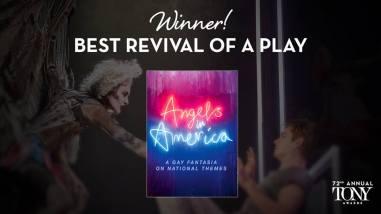 """""""Angels in America"""" vence o prêmio de melhor remontagem de uma peça"""