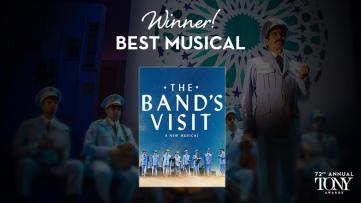 The Band's Visit é o grande vencedor na categoria de melhor musical