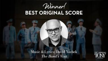 """David Yazbeck ganha o Tony de melhor partitura por """"The Band's Visit"""
