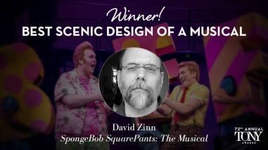 David Zinn ganha o Tony de melhor cenografia de um musical