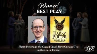 Harry Potter and The Cursed Child vence o Tony de melhor peça