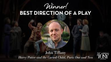 """John Tiffany vence o Tony de melhor direção de uma peça por """"Harry Potter and the Cursed Child"""""""