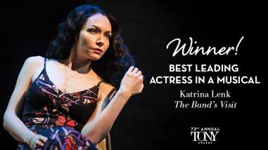 Katrina Lenk vence o Tony Awards de melhor atriz em um musical