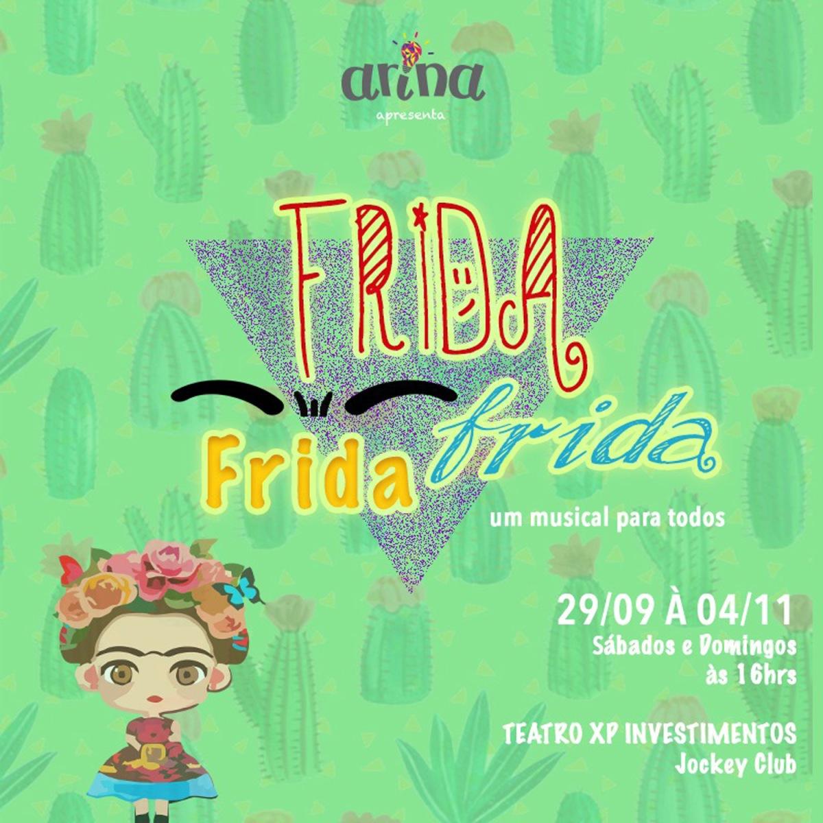 Frida Kahlo é tema de musical infanto-juvenil no RJ