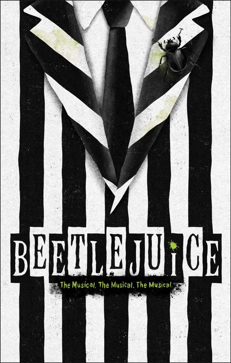 """Veja a primeira foto de Beetlejuice da versão musical de """"Os Fantasmas se Divertem"""""""