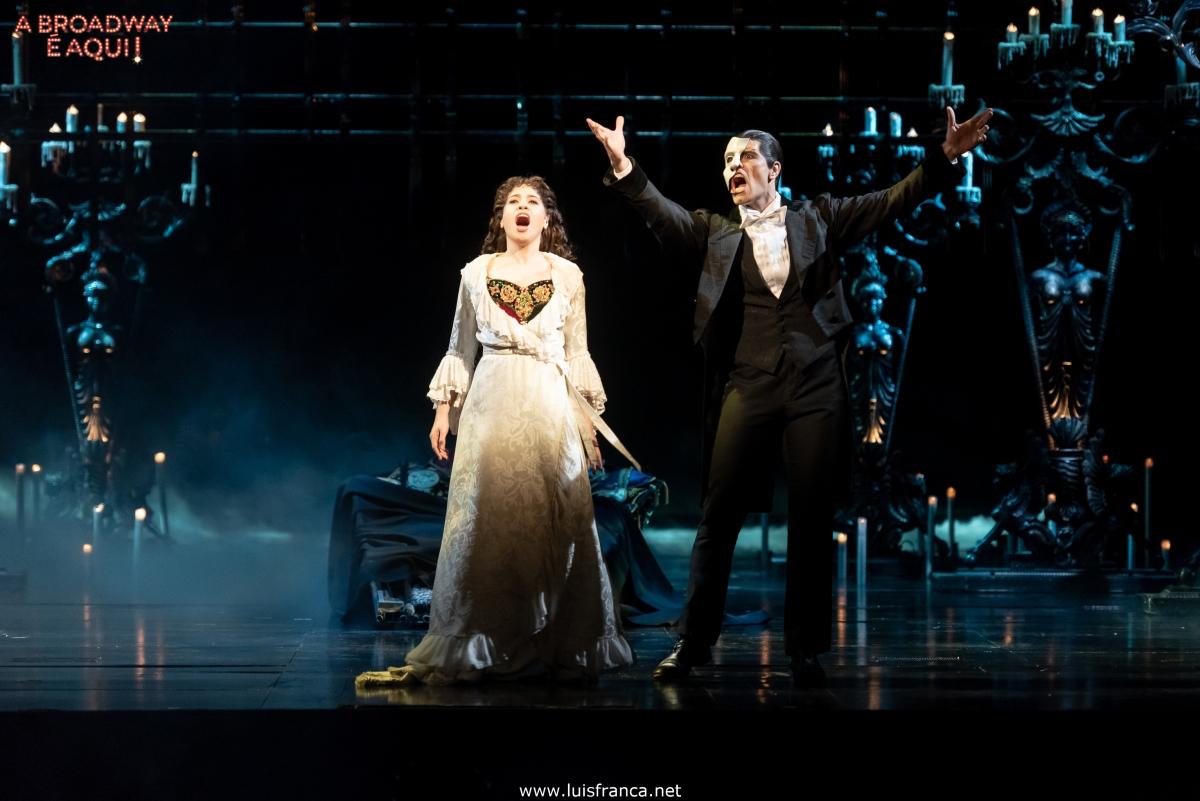 """O B! leva você para assistir """"O Fantasma da Ópera"""" em 2019"""
