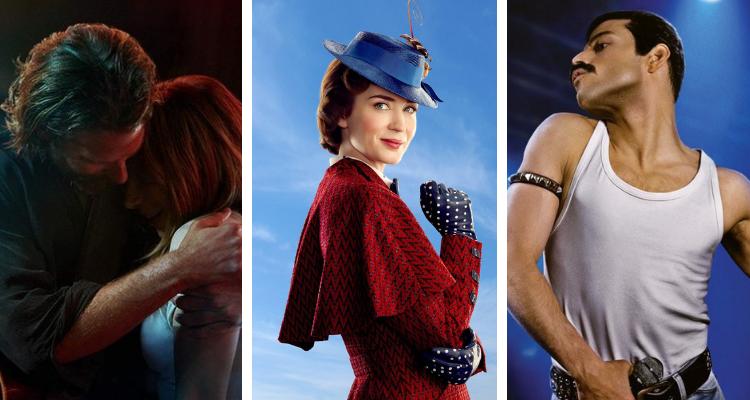 Filmes musicais concorrem em diversas categorias ao Globo de Ouro