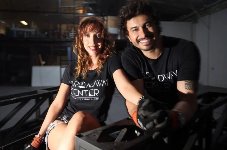 Bastidores do ensino - Kiara Sasso e Lázaro lançam centro de estudos em SP. FOTO: JF Diório/Estadão
