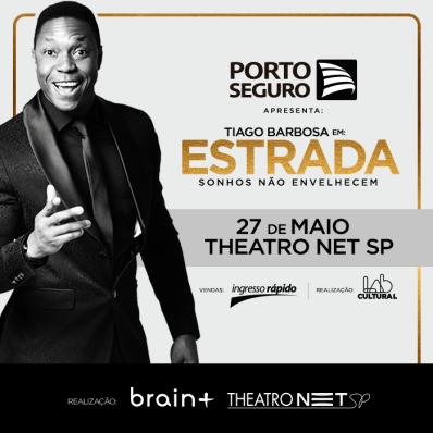 Tiago Barbosa faz apresentação única em SP