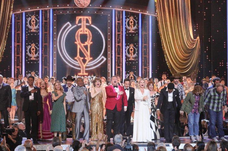 Encerramento do número de abertura do Tony Awards 2019 - FOTO: Sara Krulwich/The New York Times