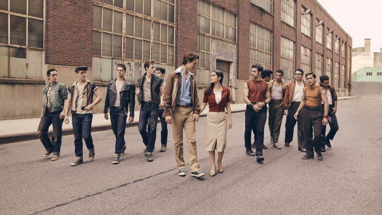 """Imagens dos bastidores do remake de """"West Side Story"""""""