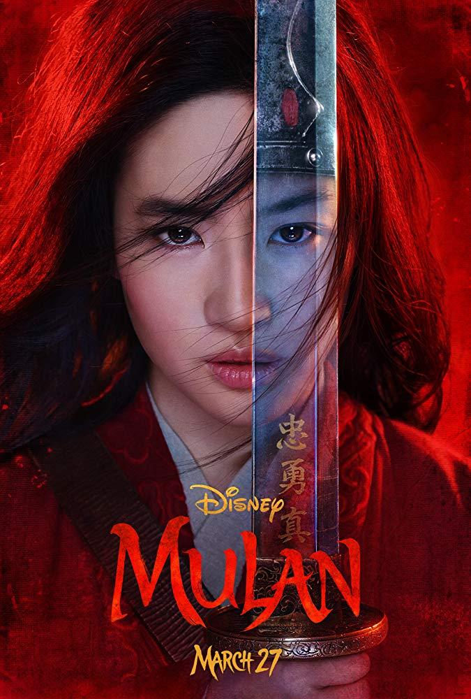 """Poster oficial de """"Mulan"""""""